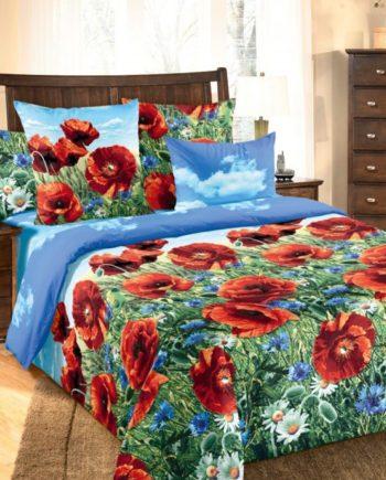 Commodus, Интернет-Магазин домашнего текстиля Пермь, купить постельное белье Пермь, купить постельное белье, купить постельное белье Бязь Пермь, Poppy color-171